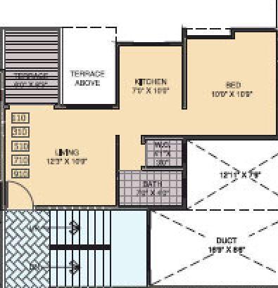 Pristine Aakanksha, Pune - Floor Plan