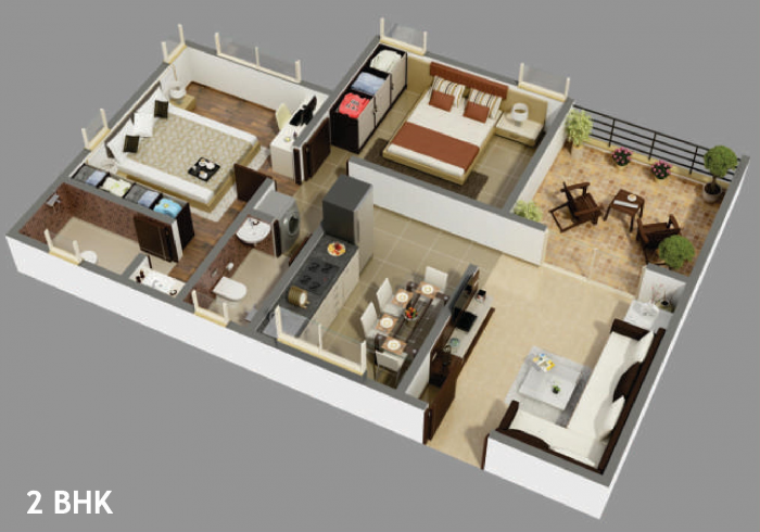 Kate Eastern Royale, Pune - Floor Plan