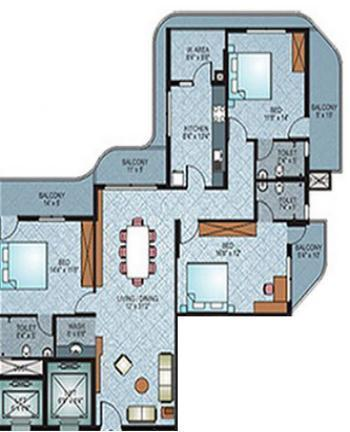 Shalimar Liverpool, Mangalore - Floor Plan