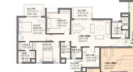 Ireo Uptown, Gurgaon - Floor Plan
