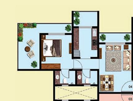 Mohan Ritteka, Thane - Floor Plan