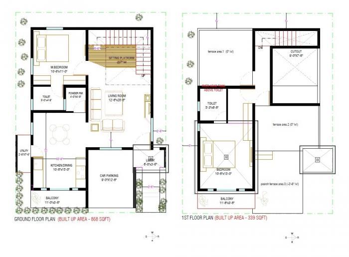 21st Castle Land Of Prosperity, Bangalore - Floor Plan