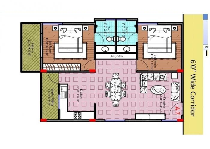 Midtown Rhythm, Bangalore - Floor Plan