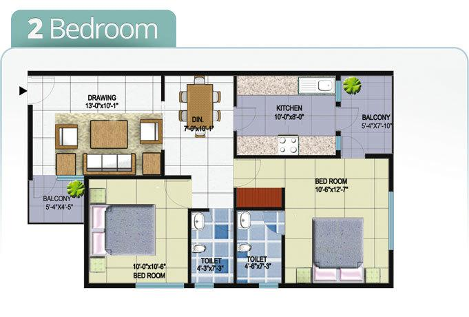 Capitol Homes, Nagpur - Floor Plan