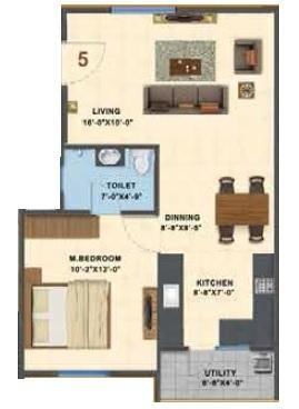 Saiven Siesta, Bangalore - Floor Plan