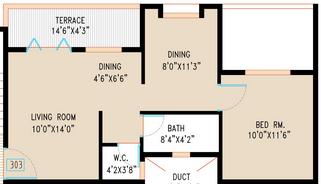Kiran Suyog, Pune - Floor Plan