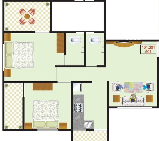 Jhamtani Ace KK Anand, Pune - Floor Plan