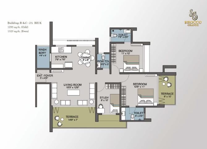 Benchmark Sirocco Grande, Pune - Floor Plan