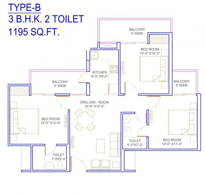 Migsun Kiaan, Ghaziabad - Floor Plan