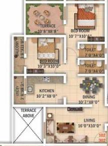 Sai Om Atharva, Nagpur - Floor Plan