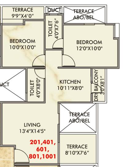 Venkatesh Oxy Galaxy, Pune - Floor Plan