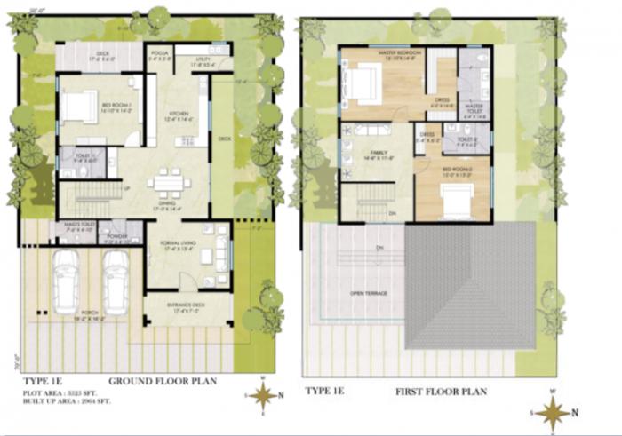 Chaithanya Samarth, Bangalore - Floor Plan