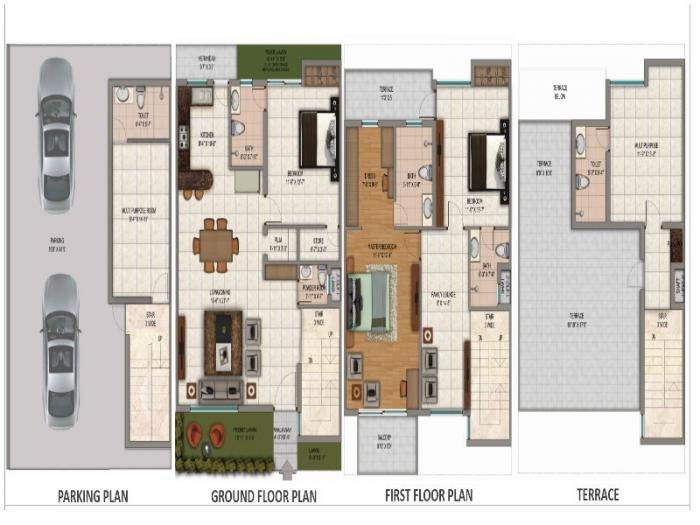 Omaxe The Hemisphere, GreaterNoida - Floor Plan