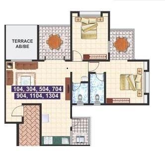 Aarya Residency, Pune - Floor Plan