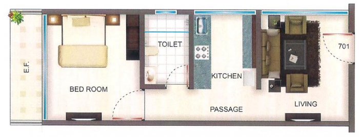 Nisar White House, Mumbai - Floor Plan