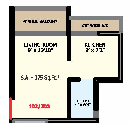 Prayag Greens, NaviMumbai - Floor Plan