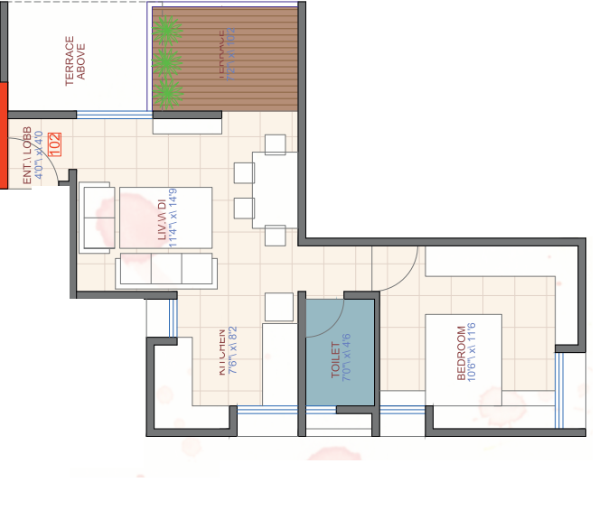 SES Bageshree, Pune - Floor Plan