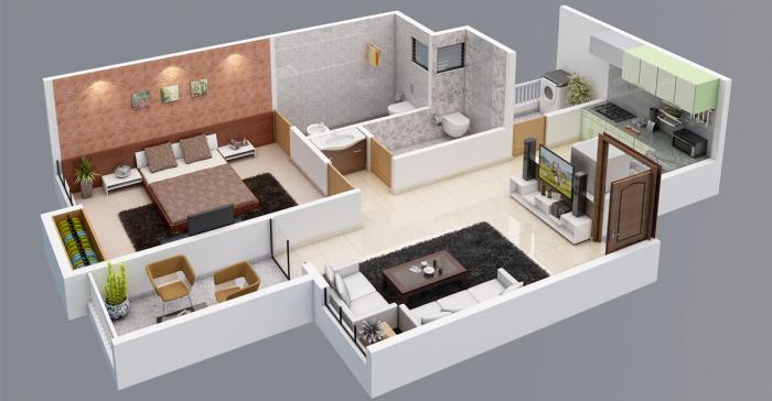 Venkatesh Oxy Bonita, Pune - Floor Plan