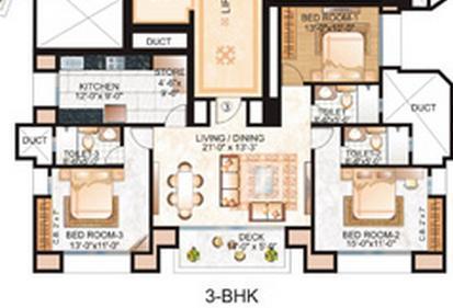 Hiranandani Rodas Enclave Clayton, Thane - Floor Plan