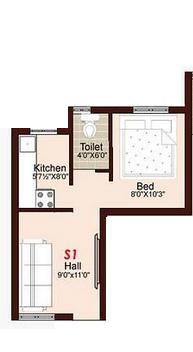 Crest Selas, Chennai - Floor Plan