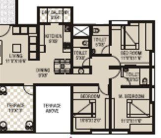 Arc Pukhraj, Pune - Floor Plan
