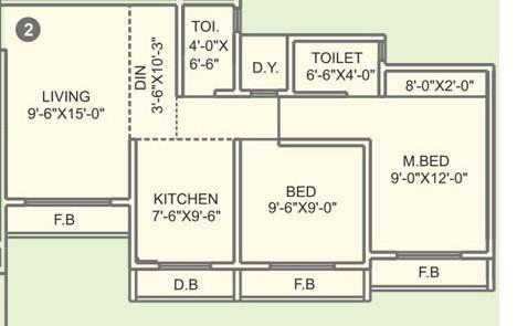 Agarwal Exotica, Mumbai - Floor Plan