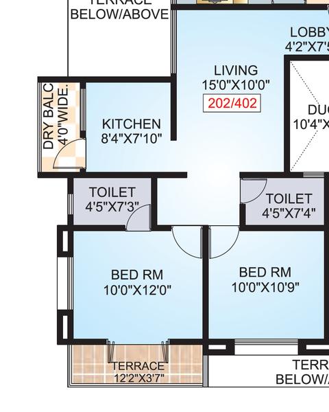 Impulse Residency, Pune - Floor Plan