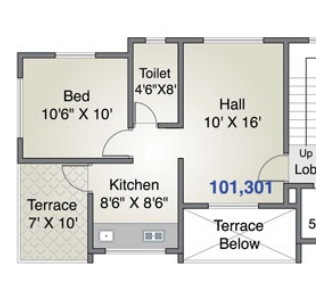 Shiv Tara Ashirvaad, Pune - Floor Plan