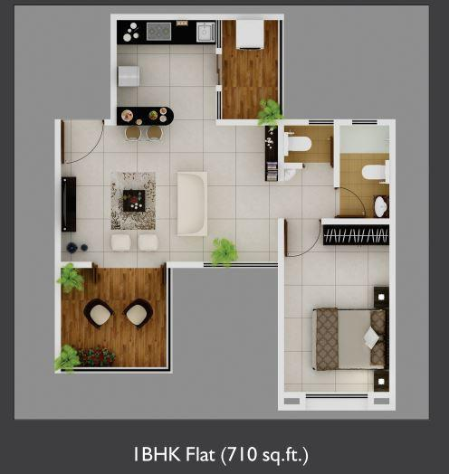 Tribute Vihana, Pune - Floor Plan