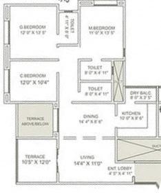 Nishant Iken, Nashik - Floor Plan
