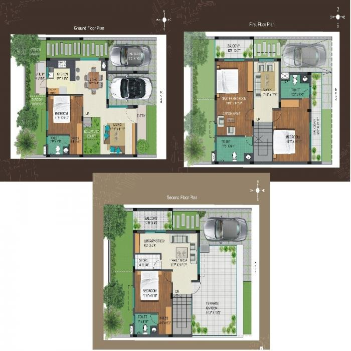 Geown Oasis, Bangalore - Floor Plan