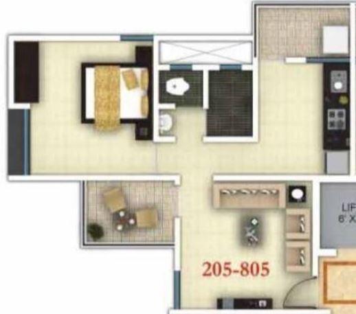 Icon Viva , Pune - Floor Plan
