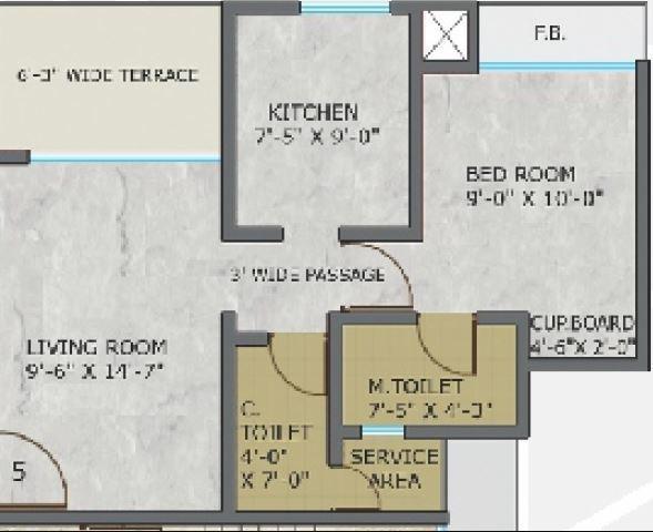 Sri Heritage, Mumbai - Floor Plan