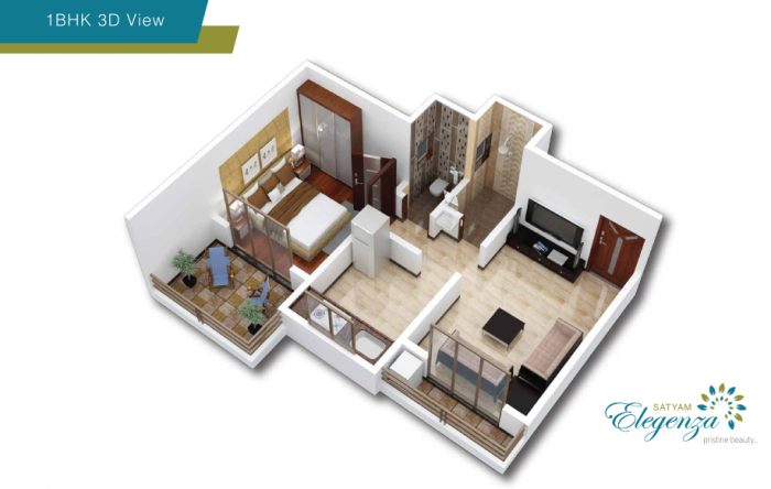 Satyam Elegenza, Mumbai - Floor Plan