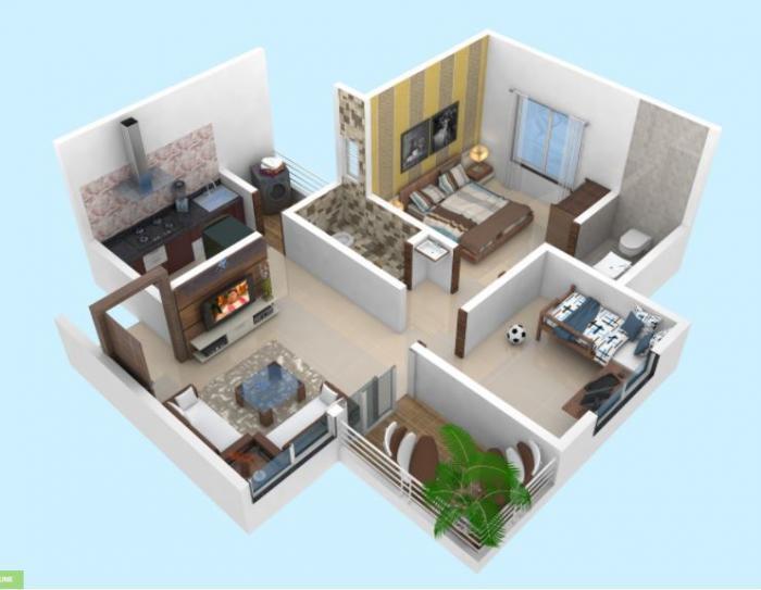 Yogesh Gandharva Excellence, Pune - Floor Plan