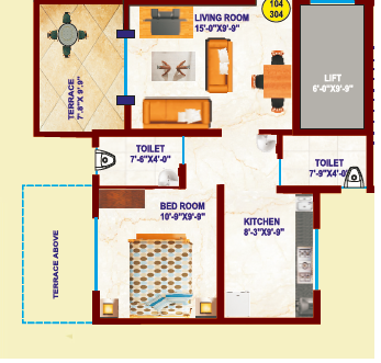 KCB Bhagyoday Residency, Pune - Floor Plan