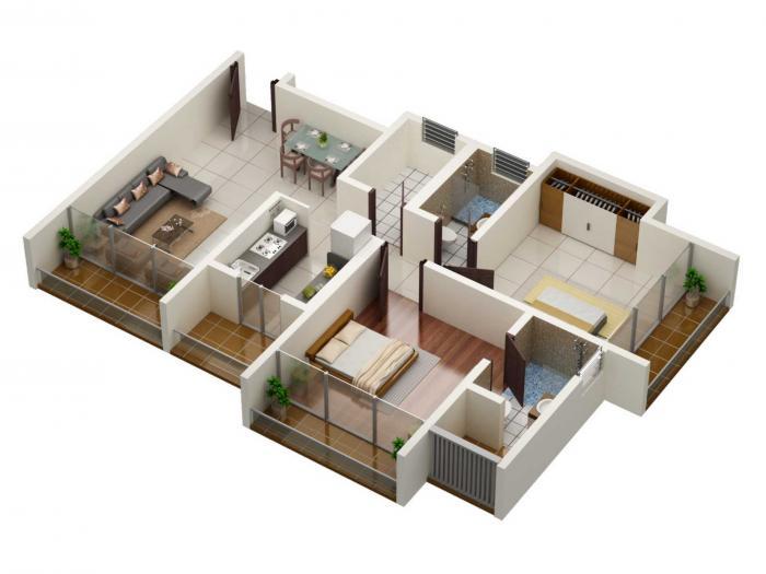 Puneet Kanchanganga Phase 1, Thane - Floor Plan