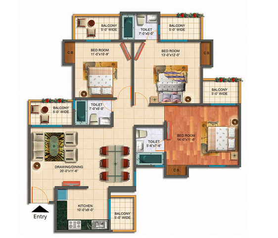 Rudra Palace Heights Sector 1