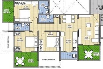 Gokhale Group Anandban, Pune - Floor Plan