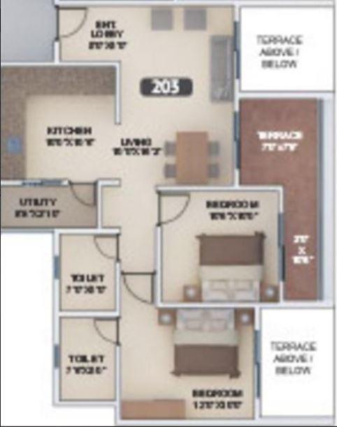 VTP Urban Nest, Pune - Floor Plan