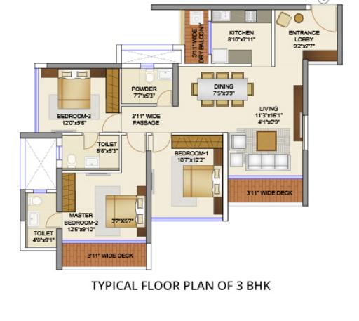 Runwal Elegante, Mumbai - Floor Plan