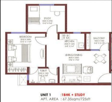 Jaypee Buddh Circuit Studios II, GreaterNoida - Floor Plan