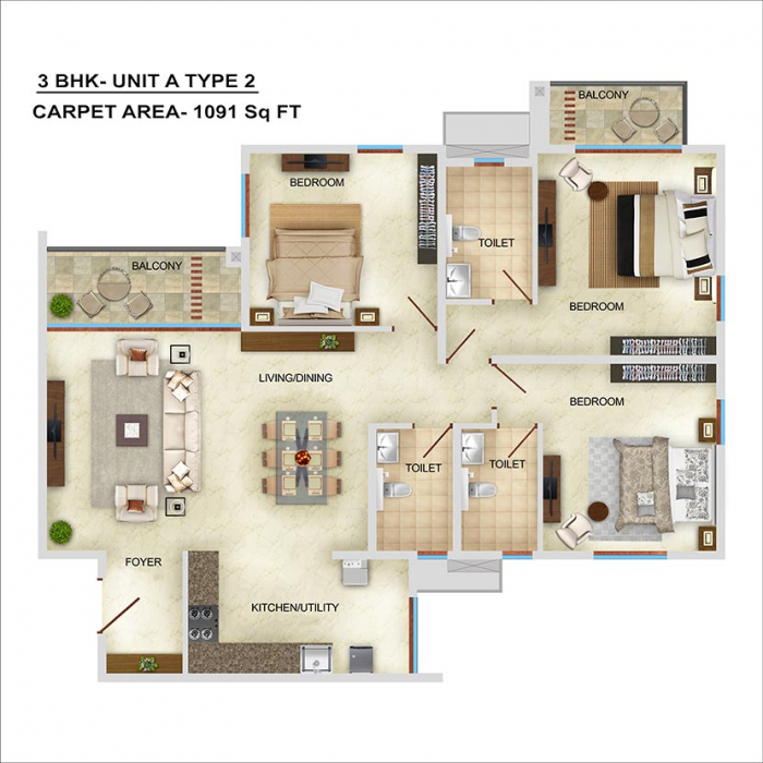 Bren Starlight, Bangalore - Floor Plan