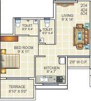 Motiram Puram, Mumbai - Floor Plan