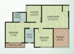 Gebi Prerna, Thane - Floor Plan