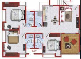 Jairaj Moraya, Pune - Floor Plan