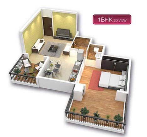 Laxmi Township, Nashik - Floor Plan