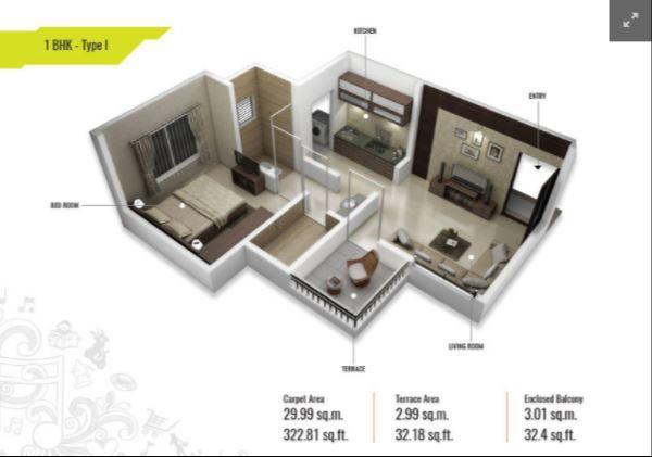 Apex Ambar, Pune - Floor Plan