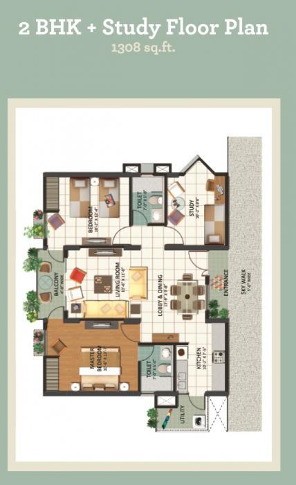 Astrum Grandview, Mysore - Floor Plan