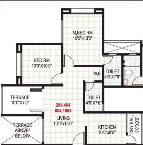GK Atlanta Phase 2, Pune - Floor Plan